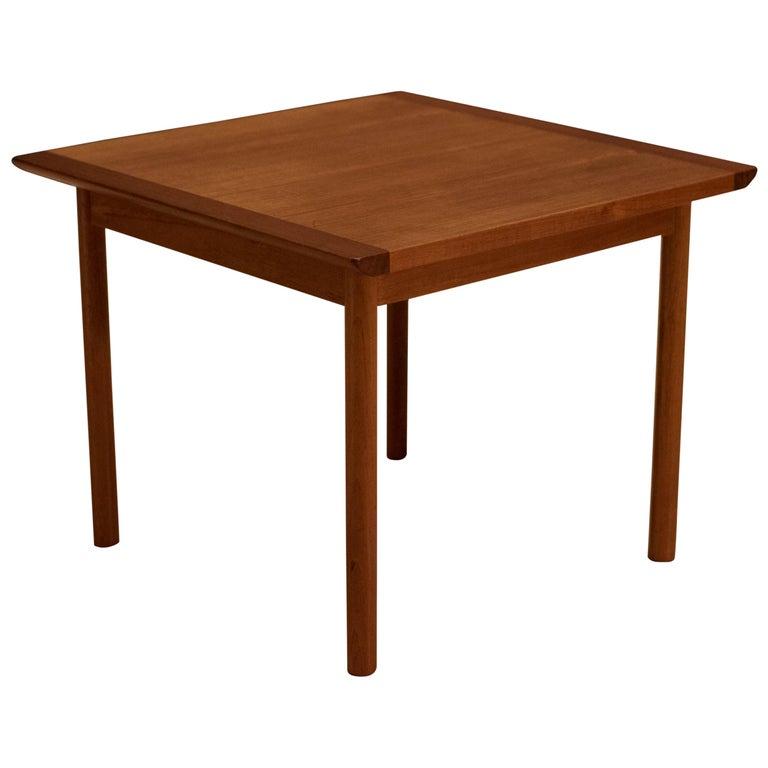 Vintage Scandinavian Teak Side Table by Westnofa For Sale