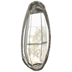 Contemporary Mirror 'Tafla O1' in Stainless Steel by Zieta Prozessdesign