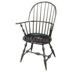 Rhode Island Sack-Back Windsor Armchair, 1785–1795