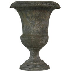 French 19th Century Zinc Medici Vase