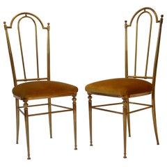 Pair of Chairs Chiavari, Italy, 1950s