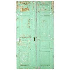 Pair of 19th Century Reclaimed Swedish Pine Doors