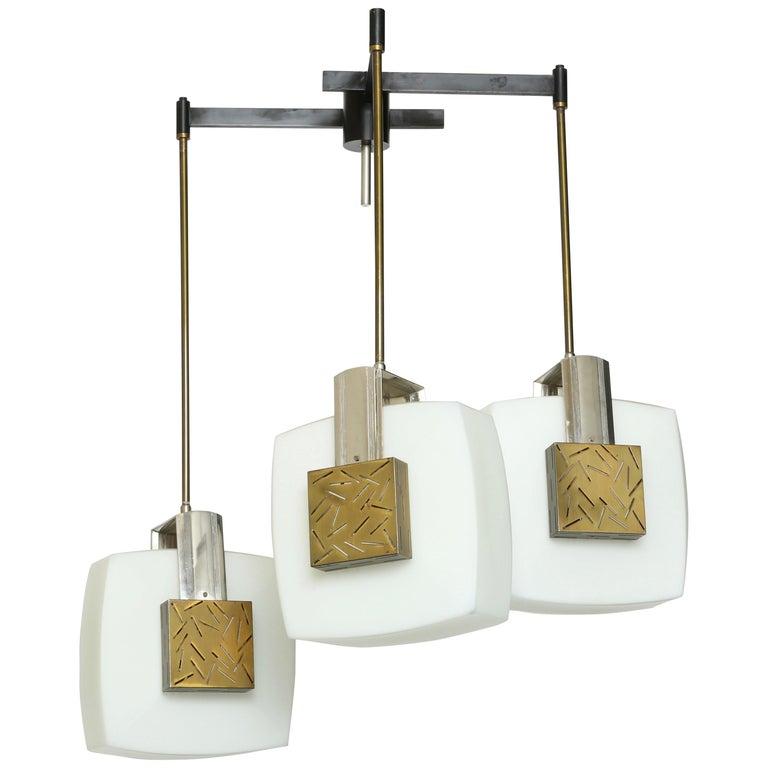 Elio Monesi for Arredoluce Ceiling Pendant For Sale
