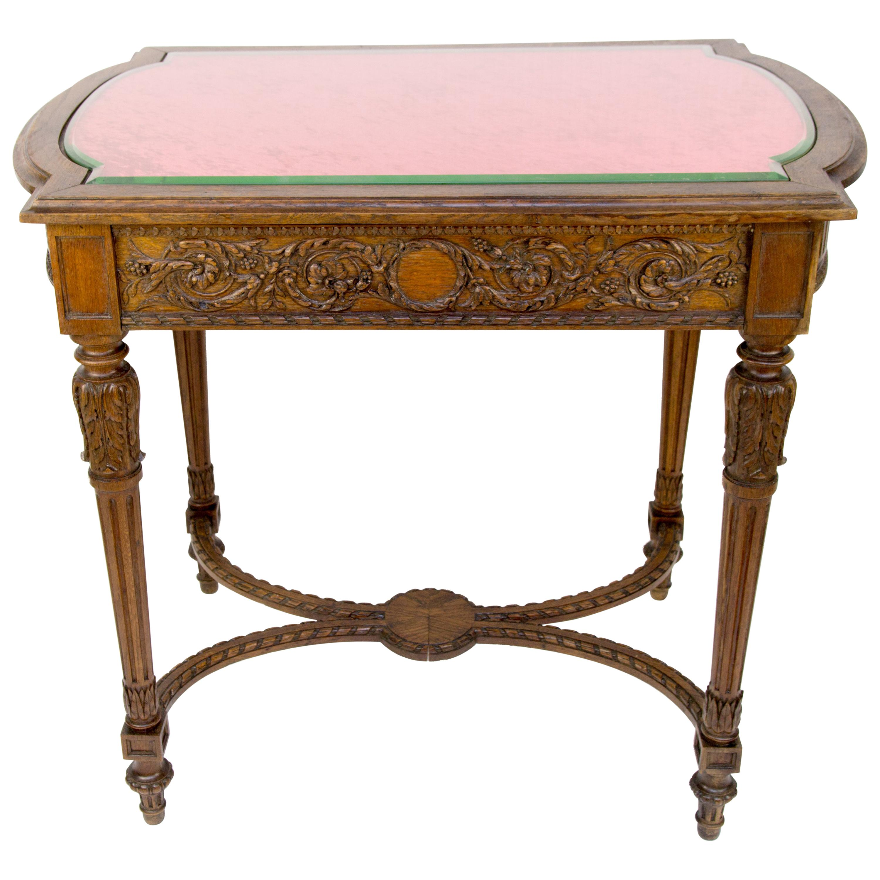 French Late 19th Century Louis XVI Center Table