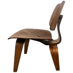 1st Year Production Charles Eames L C W 'Lounge Chair' Early Evans Label