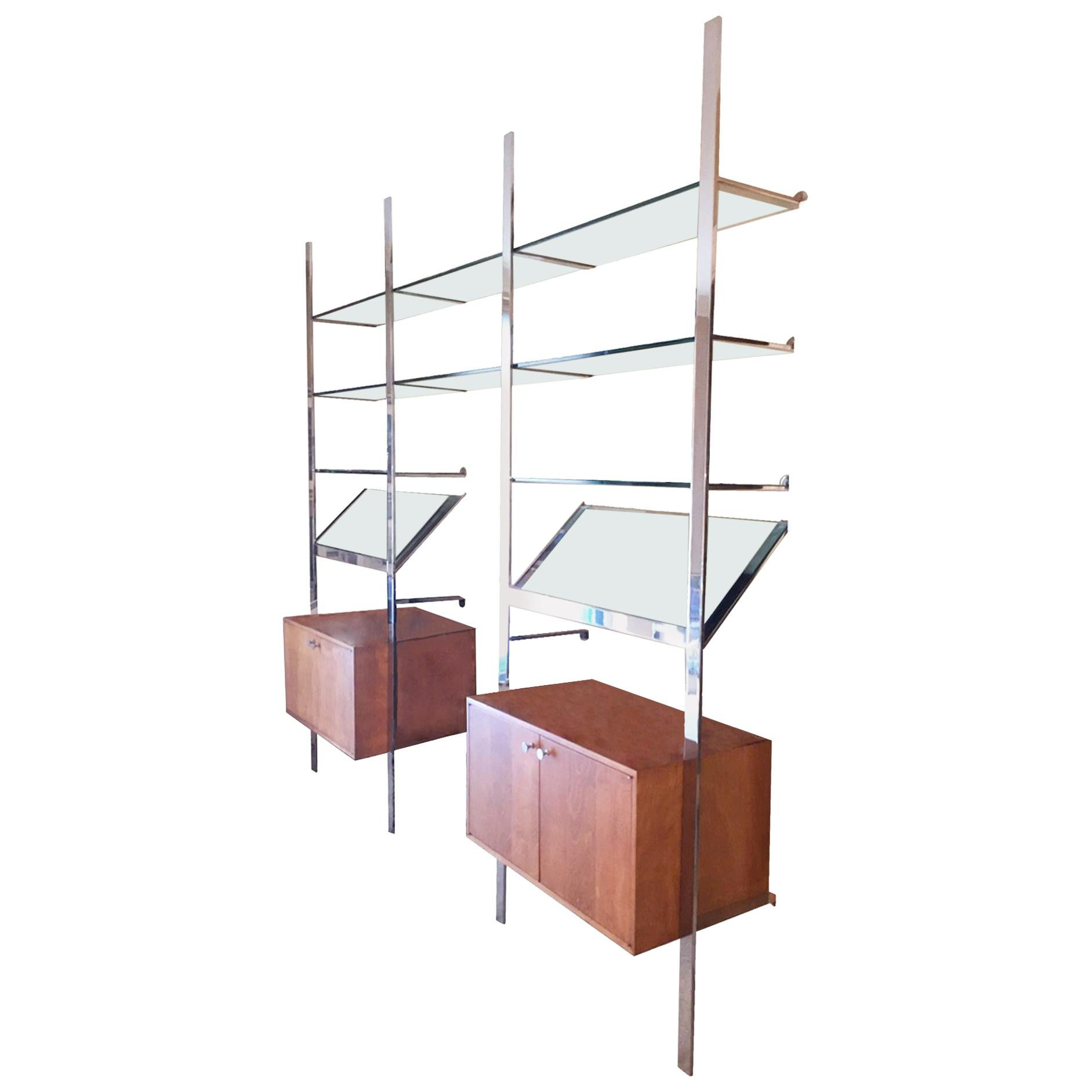 Wall Unit by Pace Collection, USA, 1970s