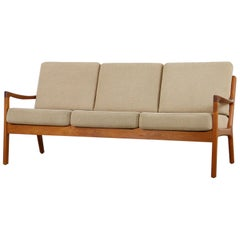 1960s Danish Modern Teak Sofa by Ole Wanscher for Cado