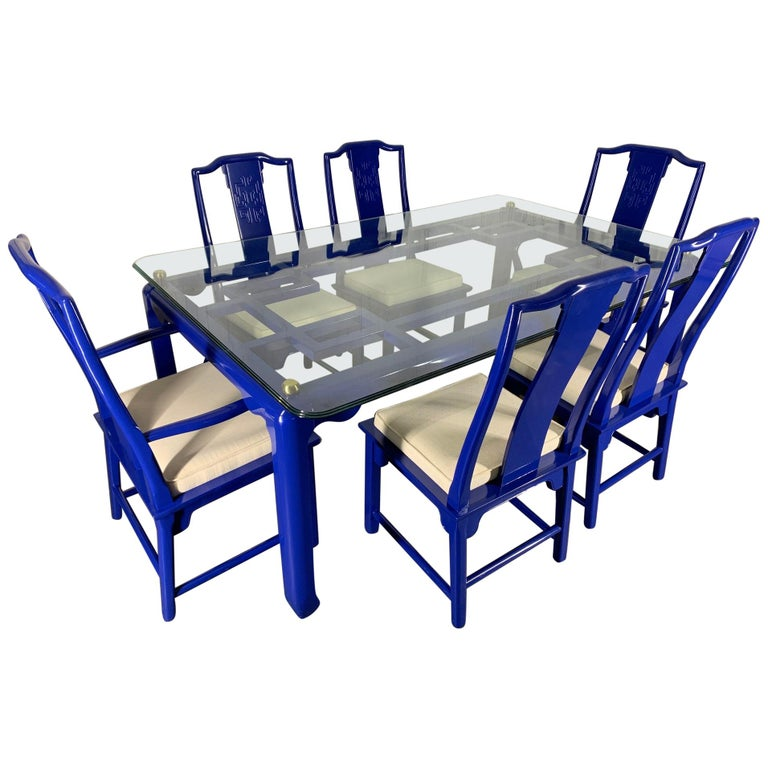 Chin Hua Asian Dining Set By Raymond Sabota For Century Furniture