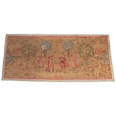Mid-19th Century Large Antique Tapestry Aubusson Style, French, circa 1850