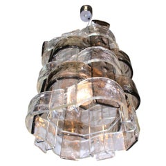 Murano Glass Pendant Light by Carlo Nason / Mazzega, Italy, 1960