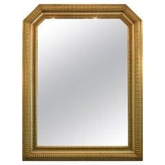20th Century Italian Giltwood Mirror, 1940s