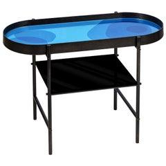 Float Blue Side Table