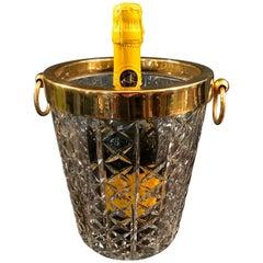 Val St Lambert Crystal Champagne Bucket