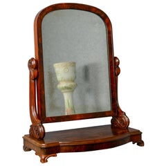 Antique Dressing Table Mirror, Victorian, Vanity, Toilet, Art Nouveau circa 1890