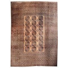 Oversized Ersari Tribal Turkoman Rug