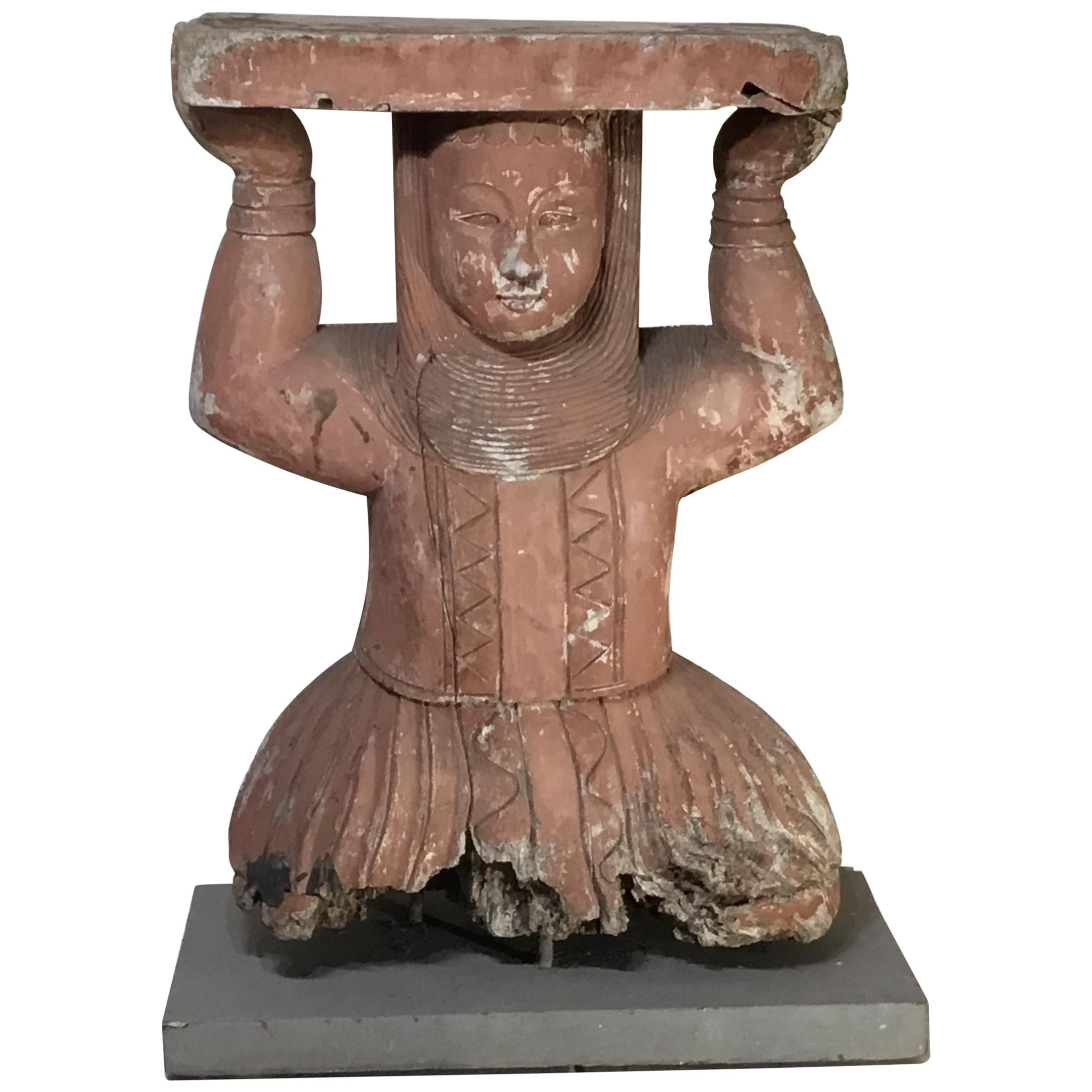 Wood carved totem pole figure for sale carvings carving tools on