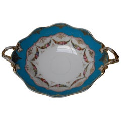 Old Paris Hand Painted Porcelain Presentation Dish, France, circa 1880