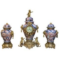 Napoleon III Polychrome Porcelain Imari
