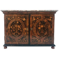Attributed to Thomas Hache, Baroque Sideboard, Grenoble, France, 1740s
