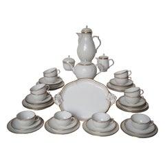 Magnificent and Rare KPM Berlin Porcelain Tea Coffee Service, circa 1900