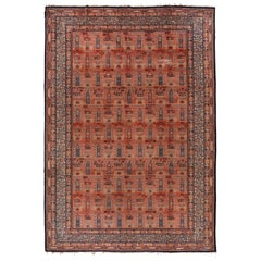 Antique Dutch Carpet, circa 1930s