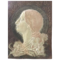 Italian 19th Century Relief Plaque Lorenzo Bozzi