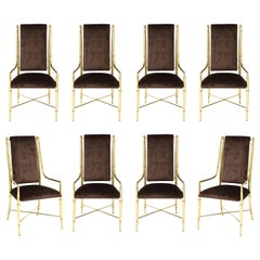 """The Imperial Chair"" Set of Eight by Weiman / Warren Lloyd for Mastercraft"