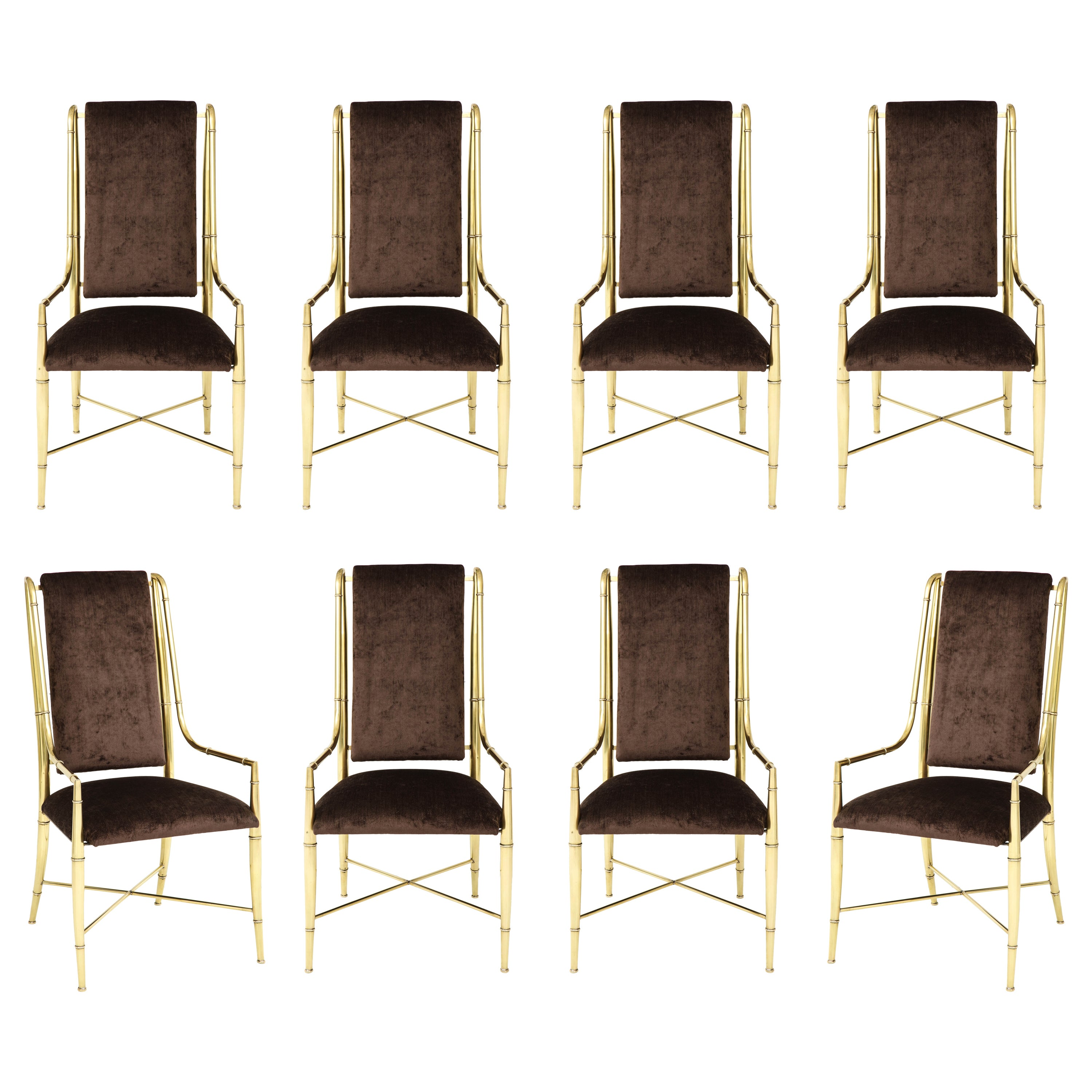 """""""The Imperial Chair"""" Set of Eight by Weiman / Warren Lloyd for Mastercraft"""