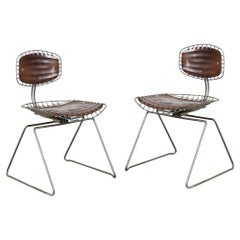 Pair of Beaubourg Chairs by Michel Cadestin for the Pompidou Centre