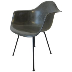 Early Label Eames Armshell Chair by Herman Miller