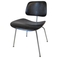 Early Eames Aniline Dyed DCM Chair for Herman Miller