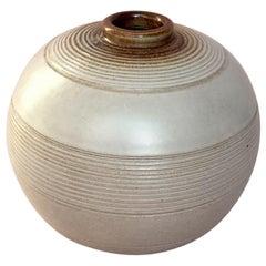 Art Deco Swedish Ceramic Vase by Anna-Lisa Thomson for Upsala Ekeby, 1930s