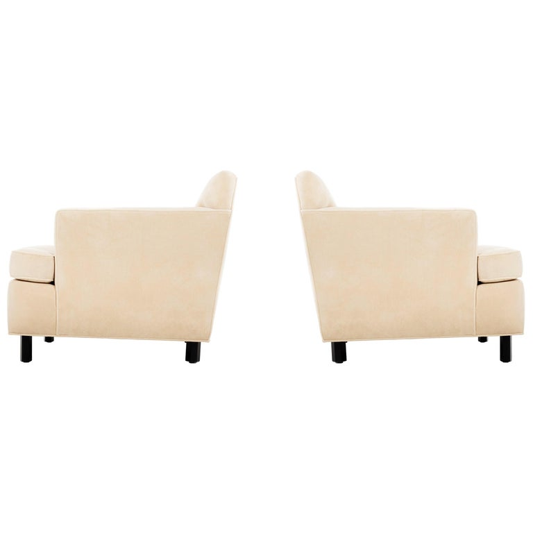 Edward Wormley Pair of Lounge Chairs For Sale