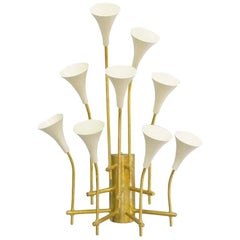 Two Pairs of Trumpets Sconces by Fabio Ltd