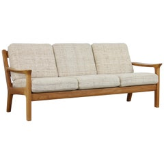 Three-Seat Sofa in Teak by Juul Kristensen for Glostrup Furniture, 1960s