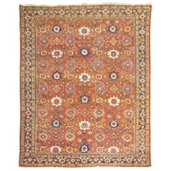 Traditional Antique Persian Mahal Carpet