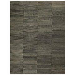 Contemporary Handwoven Flat-Weave Persian Kilim Rug, RC 110024