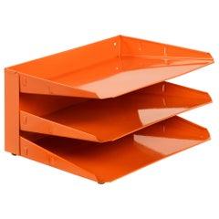Jahrhundertmitte Büro Aktensystem, Nachgearbeitet in Tangerine