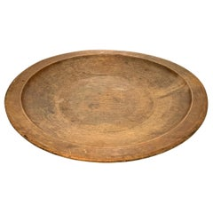 18th Century American Turned Wood Bowl