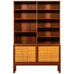 Alf Svensson Sideboard with Bookcase Produced by Bjästa in Sweden