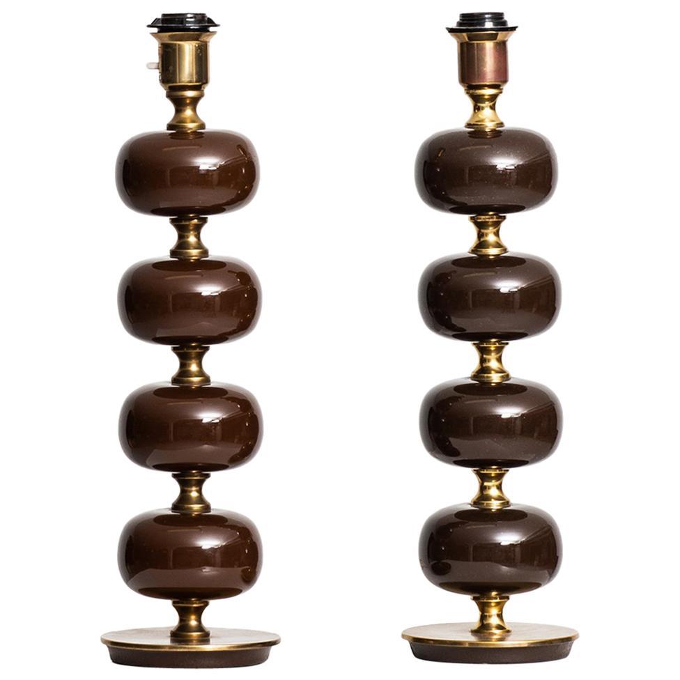 Henrik Blomqvist Table Lamps by Stilarmatur in Tranås, Sweden