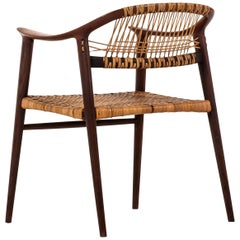 Rolf Rastad & Adolf Relling Armchair Model Bambi by Gustav Bahus in Norway