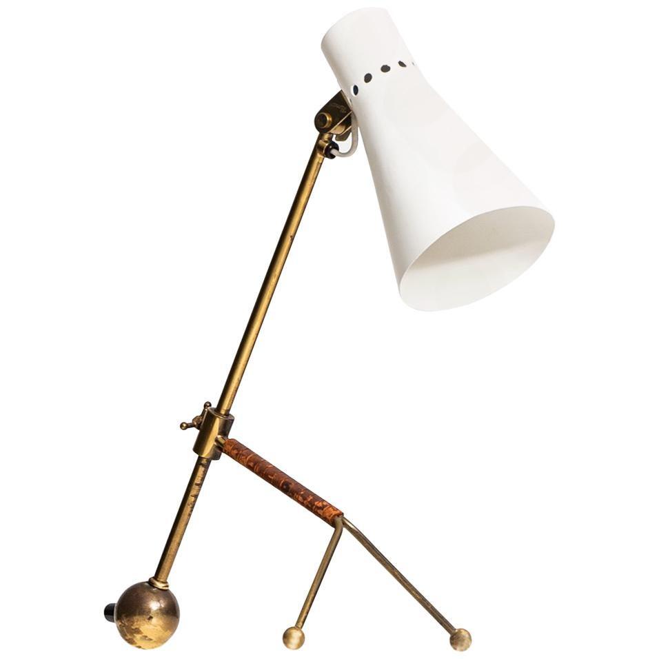 Tapio Wirkkala Table Lamp Model KD-11 by Idman in Finland