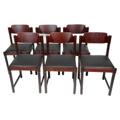 Set of Six Dining Chairs by Antonin Suman, 1970s