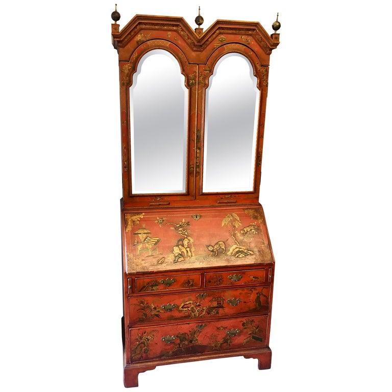 19 Century Italian Secretary Cabinet Desk For Sale