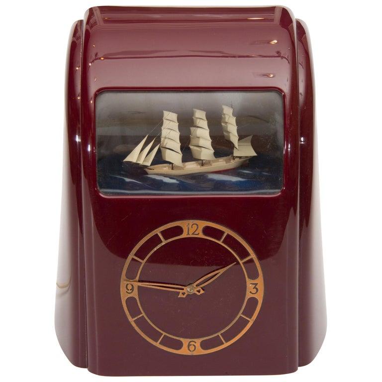 Art Deco Vitascope Clock