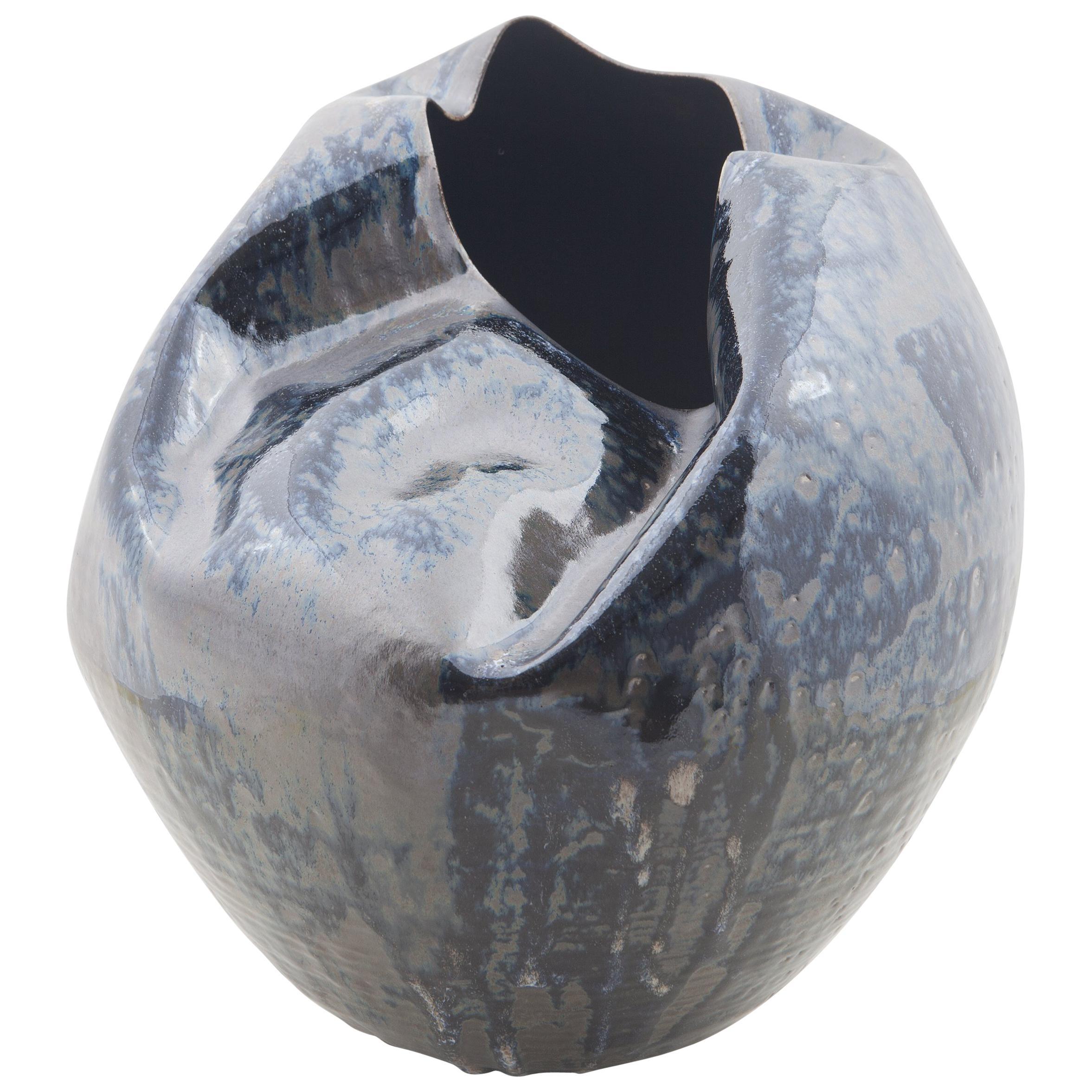 Large Undulating Form, Vase, Interior Sculpture or Vessel, Objet D'Art