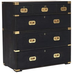 """English Military Chest from """"Newman & Sons Hythe Ltd"""""""