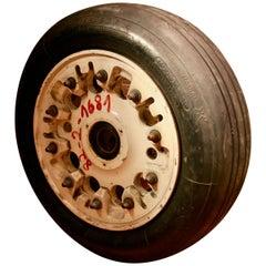 Landing Gear Wheel from the F-16 Fighter Jet
