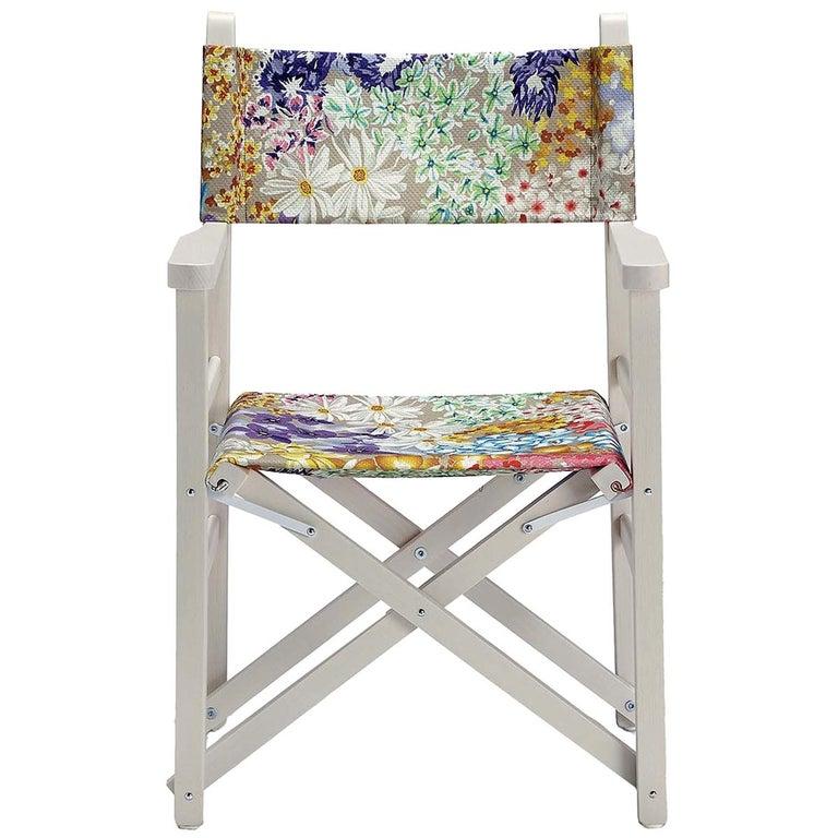 Missoni Home Outdoor Folding Chair Regista